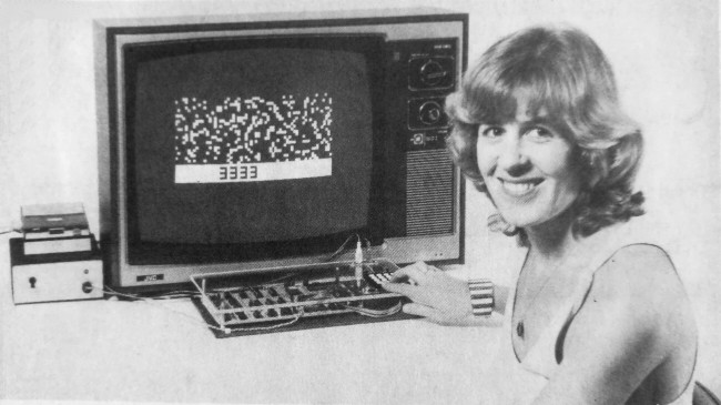 DREAM system at _Electronics Australia_ office (1979)